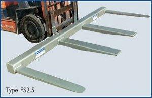 2.5 Tonne Fork Spreader Attachment
