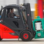 H30 EVO 2 Linde Forklift in action