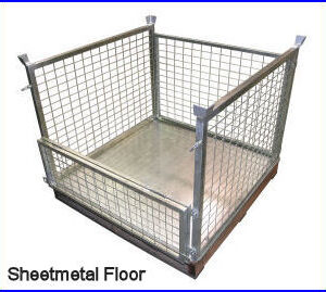 PCT 02 forklift attacment pallet cage