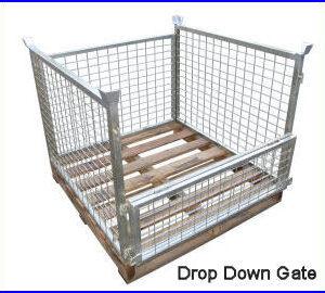 PCT 02 pallet cage forklift attacment