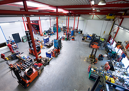 forklogic forklift service workshop