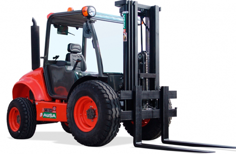 Ausa all terrain forklift