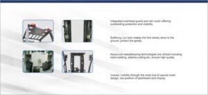 Baoli CPCD 50:70A Forklift Info