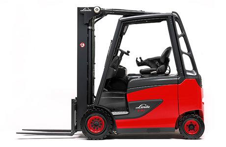 E20_35-387 Series Linde 4 wheel forklift