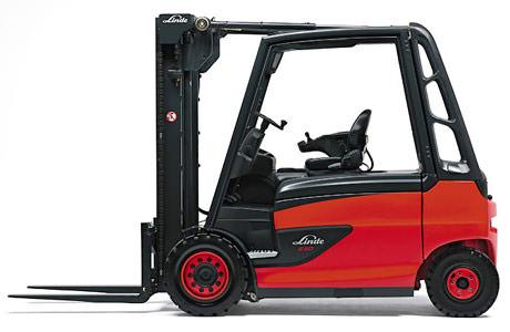 E35_50-388 Series Linde 4 Wheel Forklift