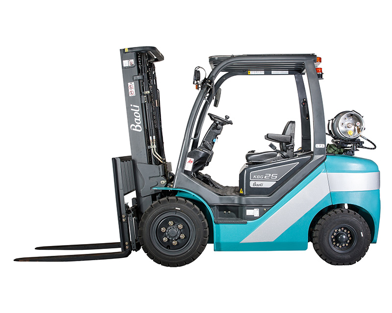 baoli forklift kgb d series side